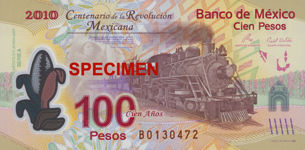 MXN 100 (Commemorative Note)