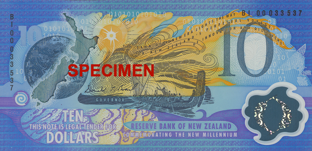 NZD 10 (Commemorative Note)