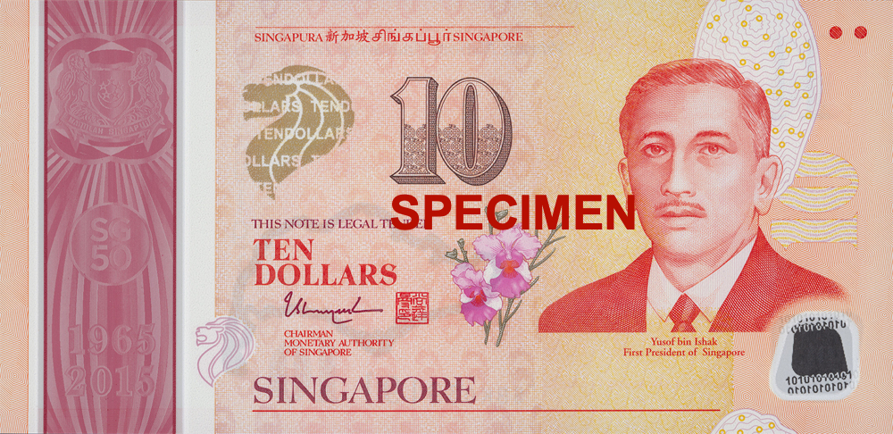 SGD 10 (Commemorative Note)