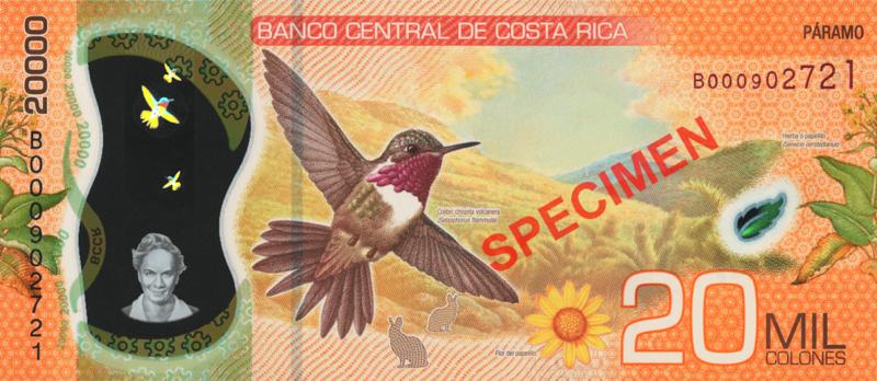 CRC 20,000
